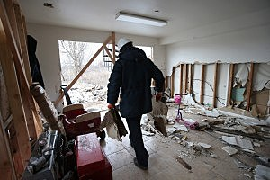 Victims Of Superstorm Sandy Continue To Recover (Photo by John Moore/Getty Images)