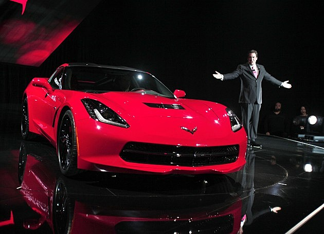 The 2014 Chevrolet Corvette