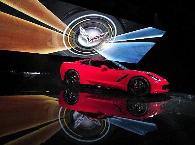 The 2014 Chevrolet Corvette Stingray