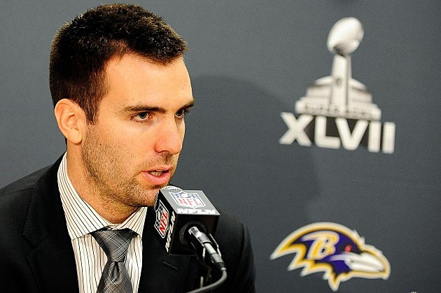 Baltimore Ravens QB Joe Flacco Comments on his home state hosting the Super Bowl