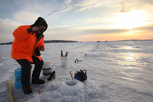 Have fun in the winter by trying ice fishing