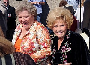 Patti Page(L)  and Brenda Lee