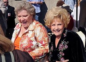 Patti Page(L)  and Brenda Lee