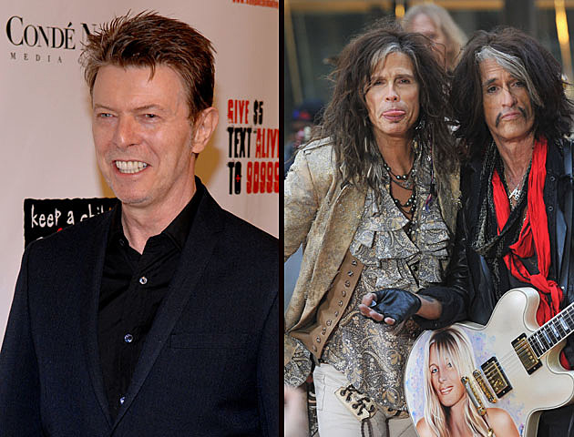 Aerosmith and David Bowie - Do you enjoy new music from older musicians?