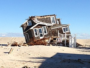 Sandy Hits the Jersey Shore - Mantoloking