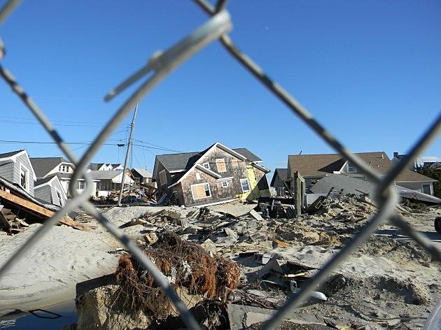 Sandy hits Mantoloking