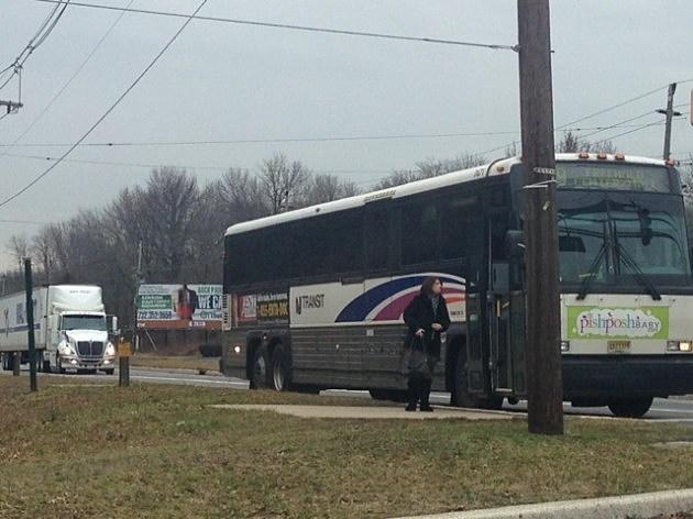 NJ Transit bus