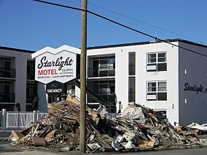 Starlight Motel post-Sandy