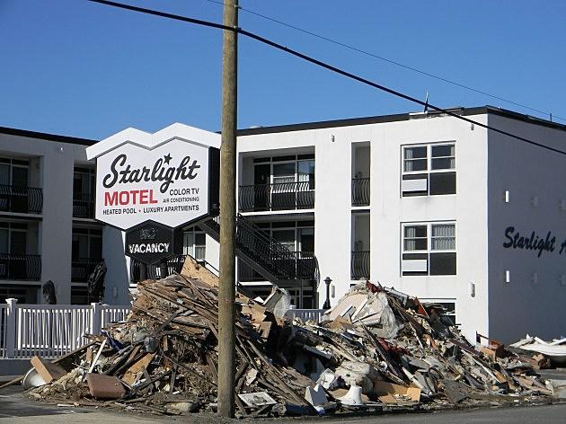 Starlight Motel post-Sandy
