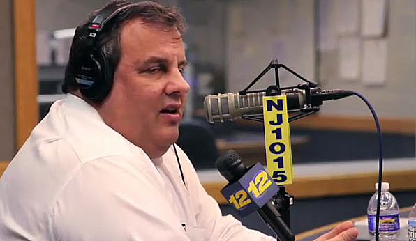 Chris Christie during Ask The Governor