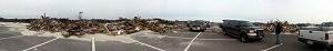 Debris on Island Beach State Park