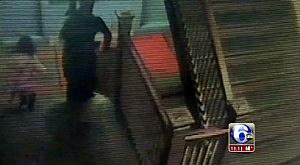 Surveillance of Philadelphia school girl being taken from school