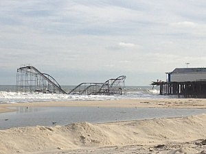 Submerged Jet Coaster in Seaside Heights