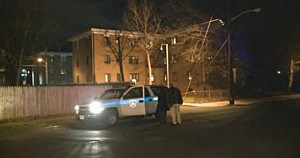 Police investigate a shooting in Plainfield