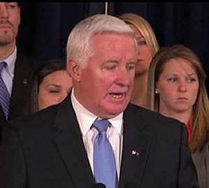 Pennsylvania Tom Corbett