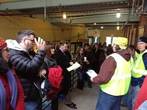 Volunteers organize their search for Sarah Majoras in Lambertville
