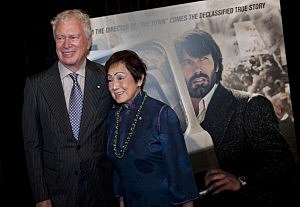 "Ken Taylor and Pat Taylor attends the ""Argo"" Washington D.C. premiere"