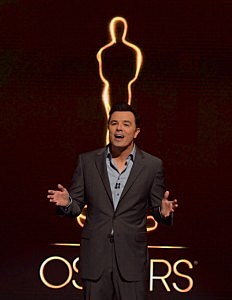 Seth MacFarlane announces the nominees