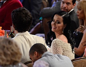 Singer Katy Perry attends Clive Davis & The Recording Academy's 2013 Pre-GRAMMY Gala and Salute to Industry Icons