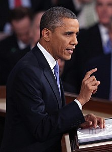 President Barack Obama delivers his State of the Union speech