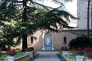 A path inside the Vatican Gardens in Vatican City, Vatican