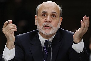 Federal Reserve Bank Chairman Ben Bernanke testifies before the Senate Banking, Housing and Urban Affairs Committee