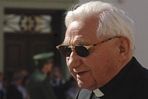 Monsignor Georg Ratzinger, Pope Benedict XVI's brother,