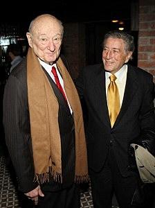 Ed Koch and singer Tony Bennett