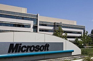 Microsoft campus in in redmond washington stephen brashear getty