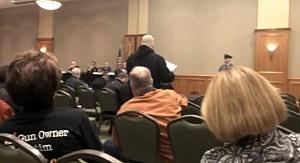 Testimony at NJ Safe Task Force hearing in Camden