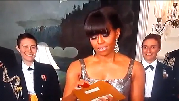 Michelle Obama Announces the Best Picture Award