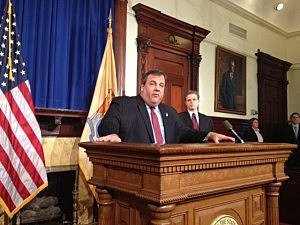 Governor Christie announces State Comtroller Matt Boxer Boxer to track all the federal relief money  heading to New  Jersey.