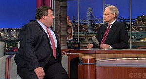 Governor Christie on David Letterman