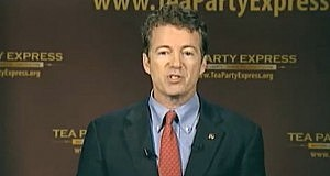 Sen. Rand Paul (R-KY) delivers the official Tea Party response to President Obama's State of the Union address