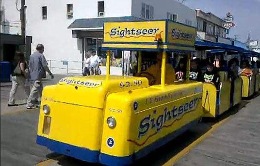 Wildwood tram car