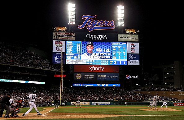 World Series - San Francisco Giants v Detroit Tigers - Game 3