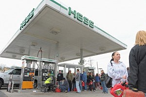 Hess station in Sayreville