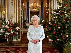 ueen Elizabeth II records her Christmas message to the Commonwealth