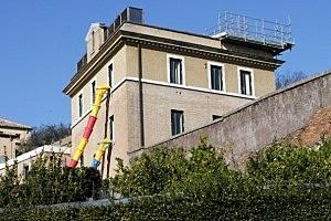 Vatican Gardens, the new residence of Benedict XVI