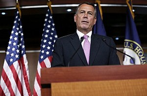 Speaker of the House Rep. John Boehner