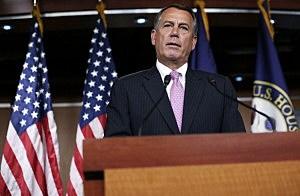 Speaker of the House Rep. John Boehner