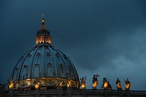 A general view of St. Peter's Basilica