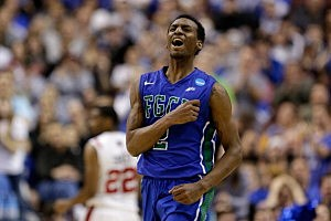 Bernard Thompson #2 of the Florida Gulf Coast Eagles