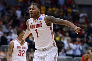 Deshaun Thomas #1 of the Ohio State Buckeyes