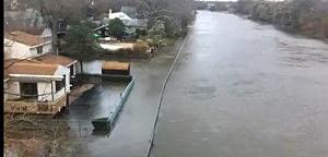 Superstorm Sandy damage in Bay Head