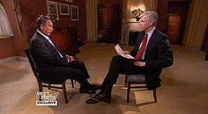 House Speaker John Boehner (R-Ohio) on NBC's Meet the Press