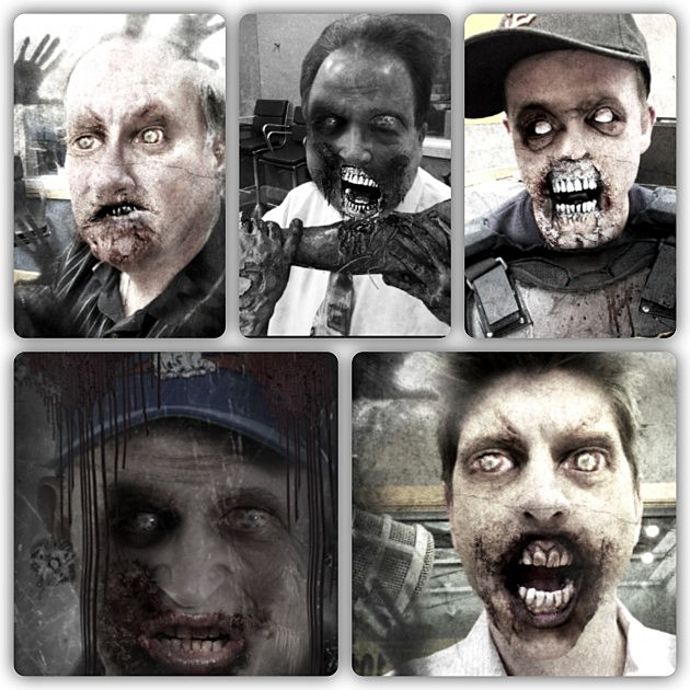 NJ1015 Morning Show Turns Into  Zombies