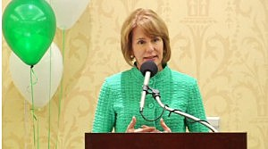 Barbara Buono addresses the NJEA