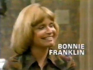 Bonnie Franklin in the opening credits of One Day Of A Time