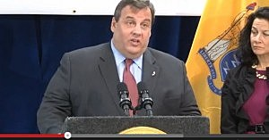 Governor Christie talks about sequester in Jersey City